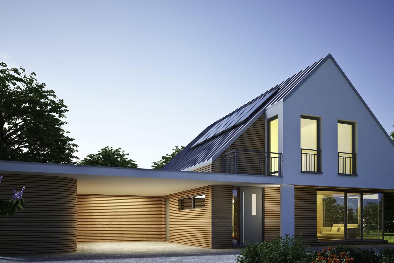 Autarkes Eigenheim mit Photovoltaik-Anlage