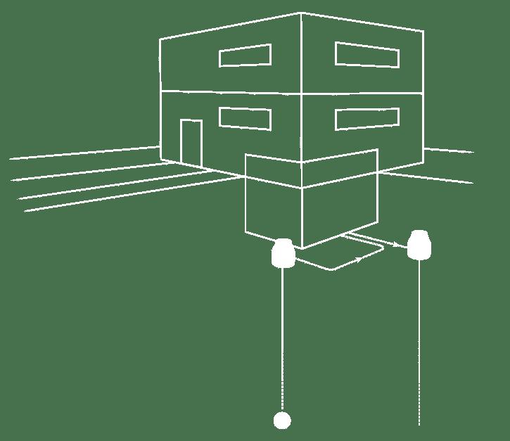 Schema M-TEC Grundwasser-Wärmepumpe