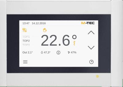 M-TEC Wärmepumpen Steuerungskonsole