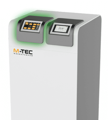 M-TEC Wärmepumpe mit E-SMART Display