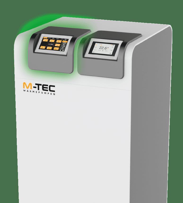 M-TEC Wärmepumpe mit E-SMART Display