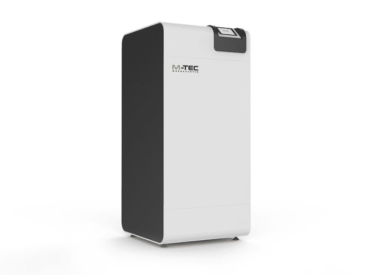 Grundwasserwärmepumpe 4-18 kW mit Display