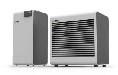 M-TEC Luftwärmepumpe Split 4-17 kW - Wärmepumpe und Verdampfer getrennt