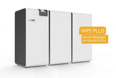 Erweiterbarer Wärmepumpen-Baukasten WPS TWIN PLUS