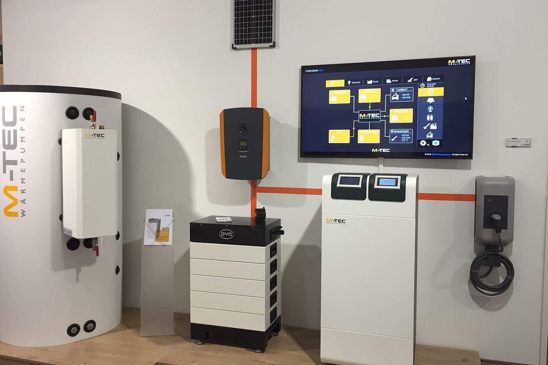 M-TEC Wärmepumpe mit E-SMART Energiemanagement
